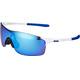 Oakley EVZero Pitch Cykelglasögon blå/vit